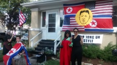 Kim Jong Un Americans by Aram Han Sifuentes curated by Jacqueline Chao
