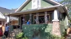 I Will Bear Witness by Emily Hermant in Sabinna Ott's home.
