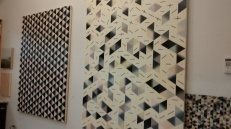 Bumped into Scott Stack. Here is a little bit of the magic happening in his studio in Oak Park (not part of Terrain)