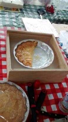 Inside The Artist's Kitchen. Pie Fundraiser.